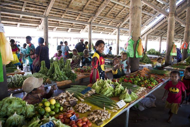 Tropische Markt stock foto