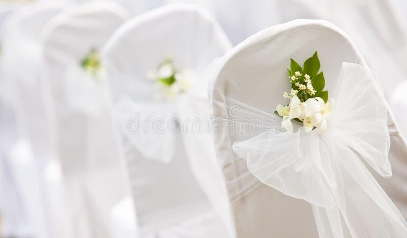Tropische montages voor een huwelijk royalty-vrije stock afbeelding
