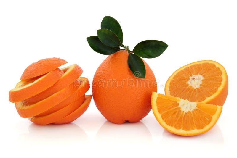 Tropische orange Frucht stockbilder