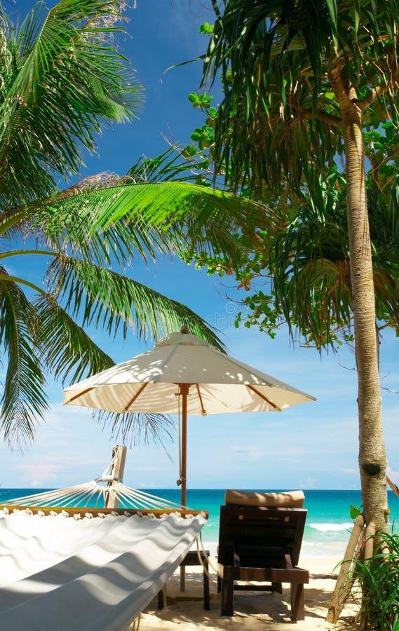 Tropische Site stockfoto