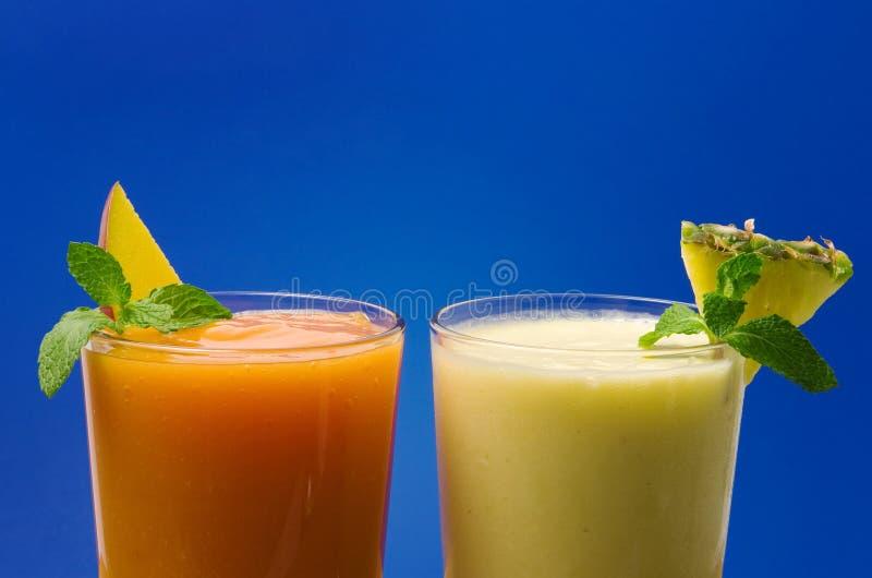 Tropische smoothie royalty-vrije stock afbeelding