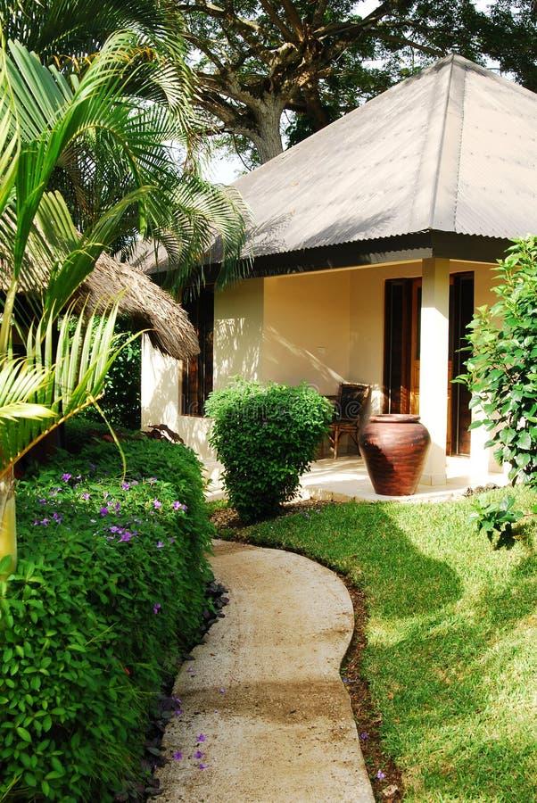 Tropische toevlucht. Efate. Vanuatu royalty-vrije stock foto
