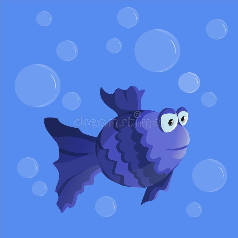 Tropische Vissen royalty-vrije illustratie