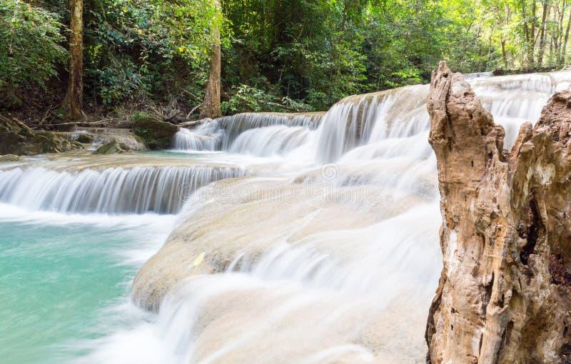 Tropische waterval royalty-vrije stock afbeeldingen