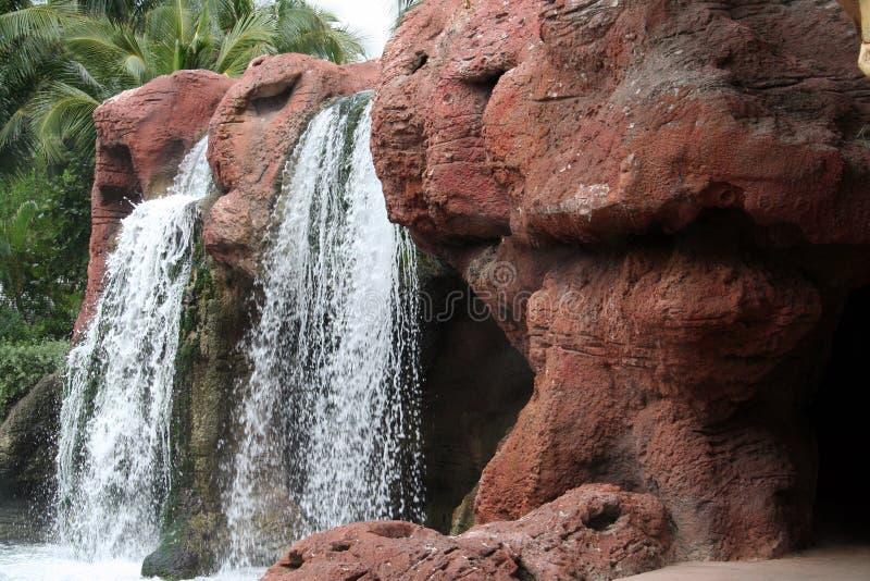 Tropische Waterval royalty-vrije stock fotografie