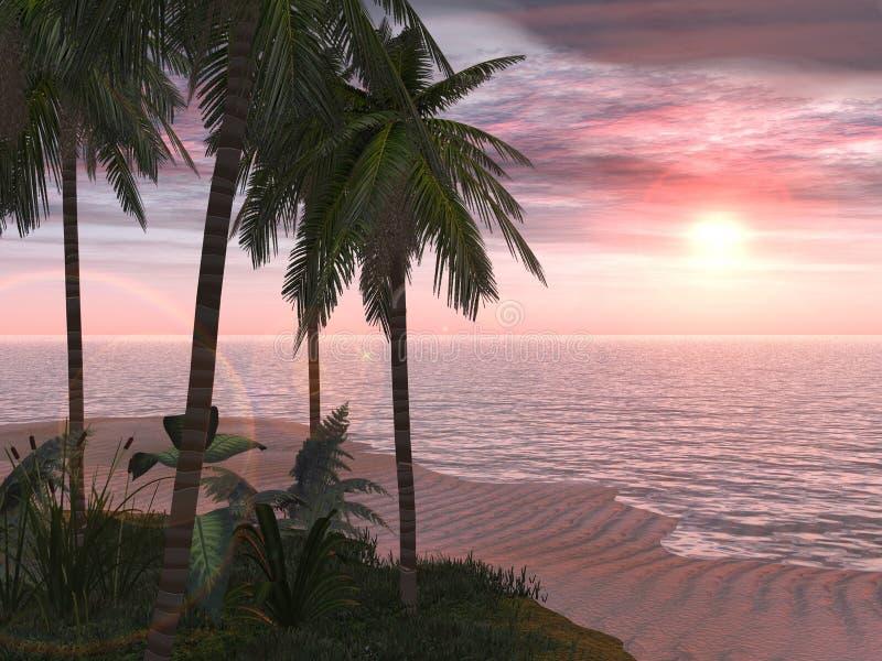 Tropischer Insel-Rückzug