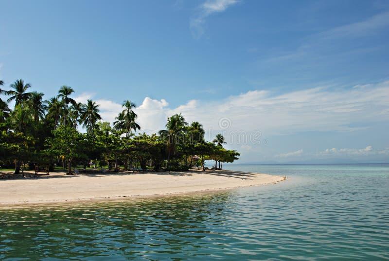 Tropischer Insel-Strand stockfotos