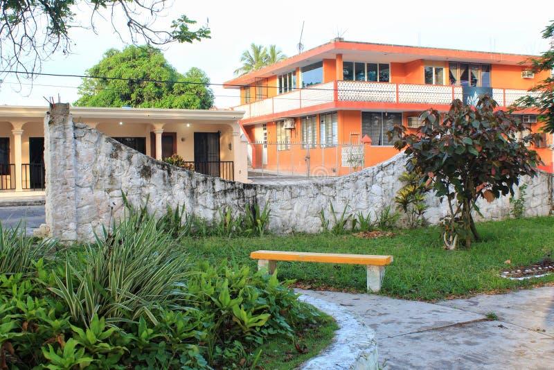 Tropischer mexikanischer Park lizenzfreies stockbild