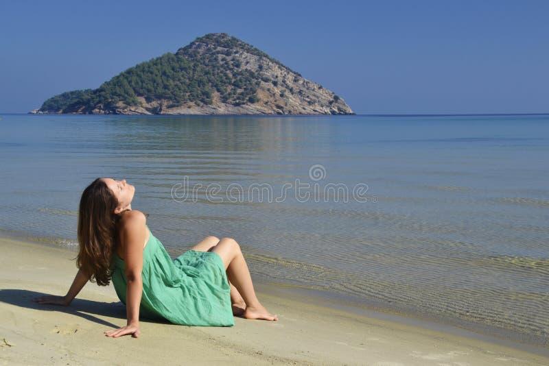 Tropischer Strand - Langkawi stockbild