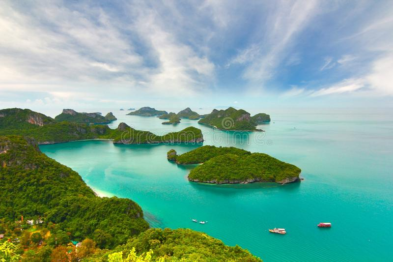 Tropischer Strand - Langkawi KOH Samui, Thailand lizenzfreies stockfoto