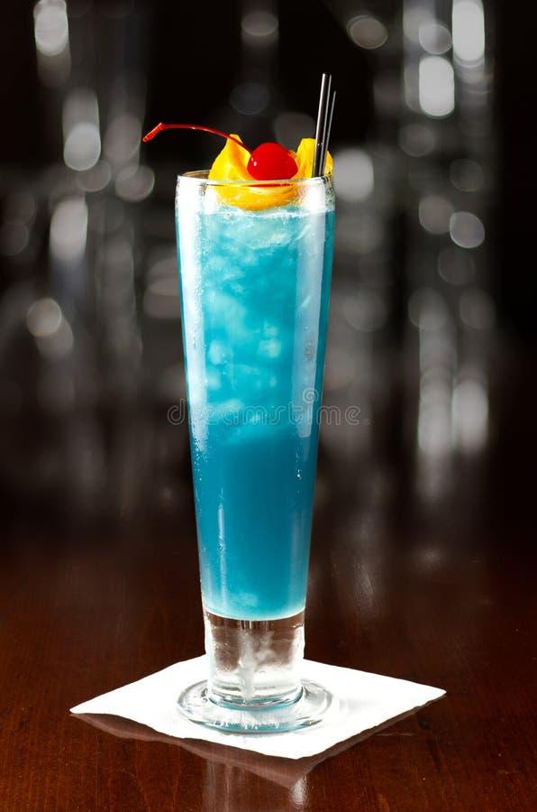 Elektrische blaue Limonade stockbild