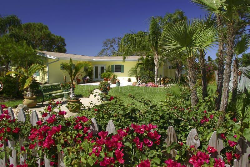 Tropisches Haus stockfoto