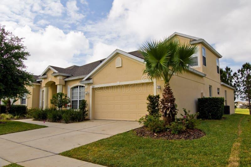 Tropisches Haus stockbild