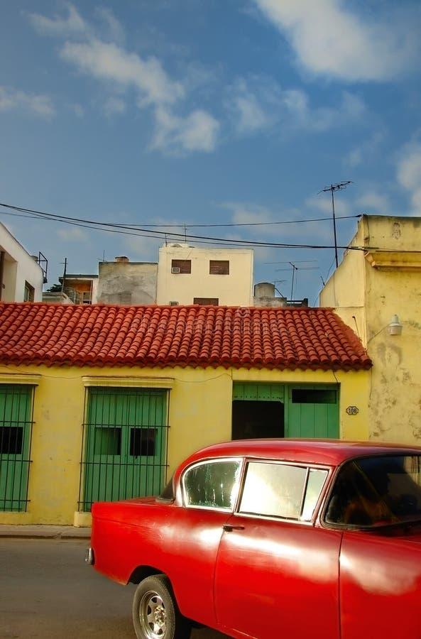 Tropisches Havana-Auto lizenzfreies stockbild