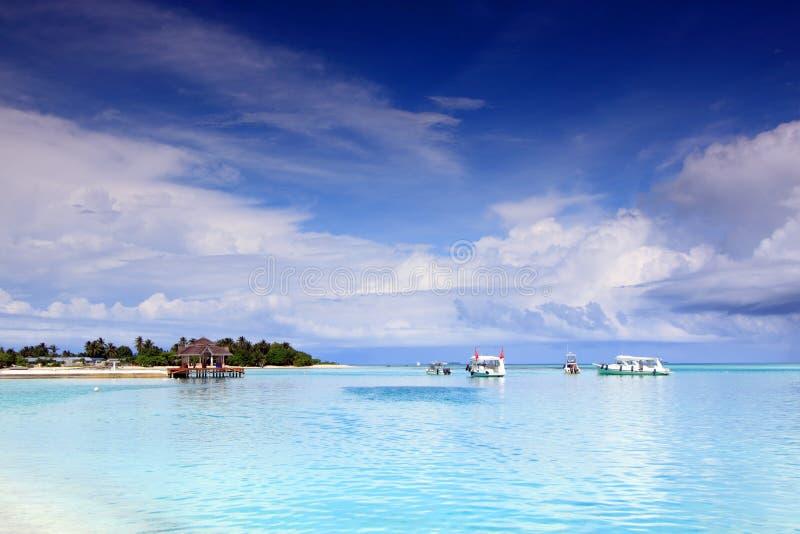 Tropisches Inselparadies stockbilder