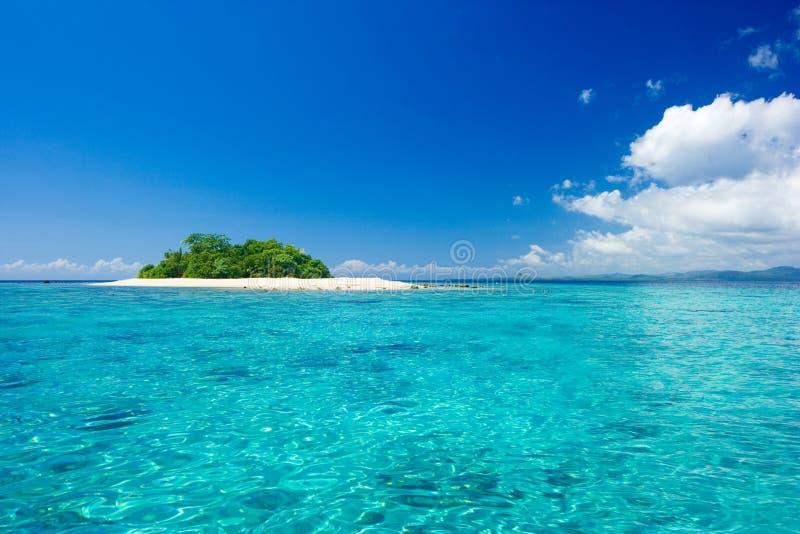 Tropisches Inselparadies stockfoto
