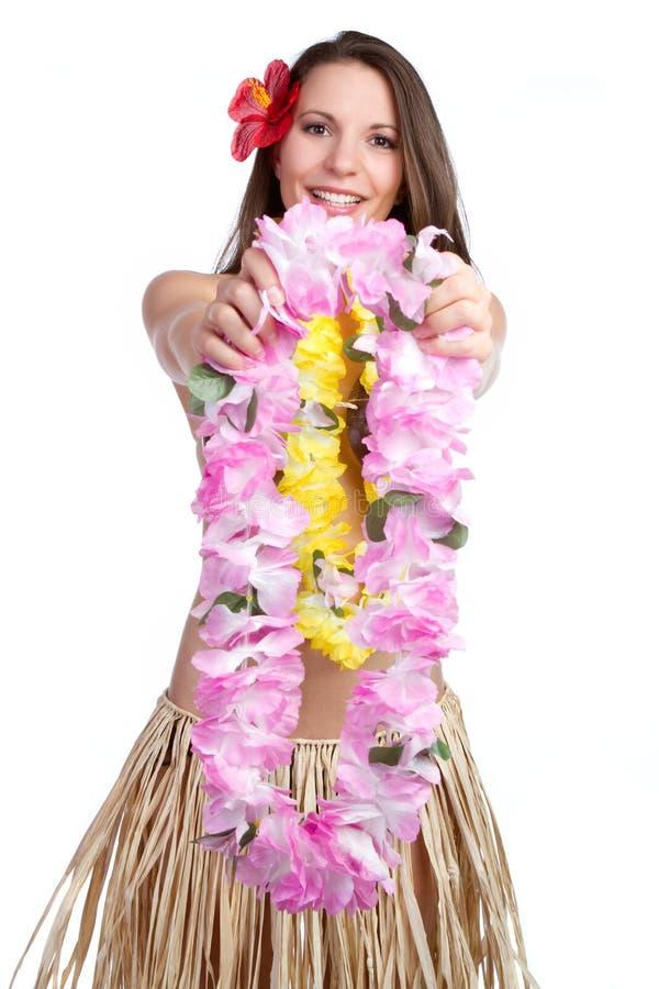 Tropisches Leu-Mädchen lizenzfreie stockfotografie