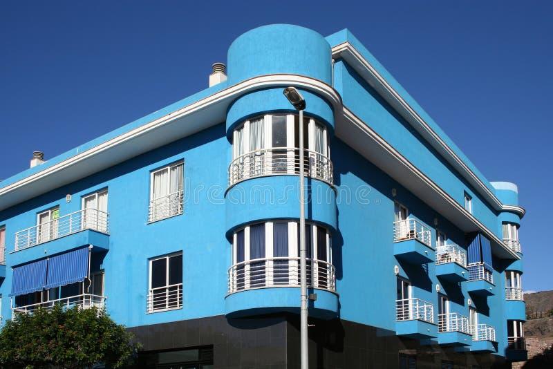 Tropisches Luxuxhaus stockfoto