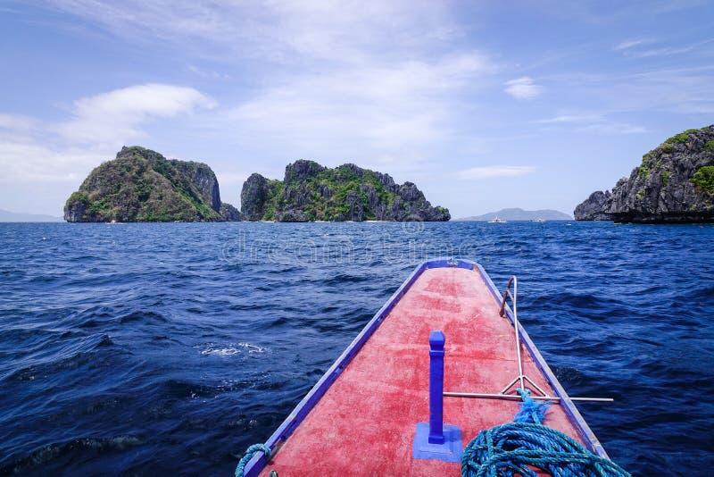 Tropisches Meer in Palawan, Philippinen lizenzfreies stockfoto