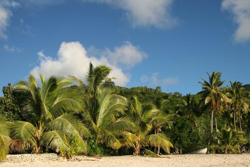 Tropisches Traumstrand-Paradies stockfoto