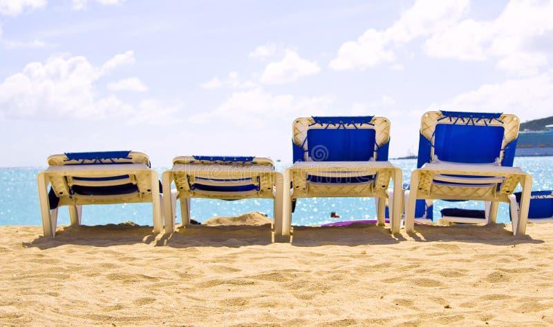 Tropisk ö för St Maarten royaltyfri bild