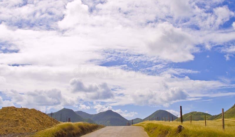 Tropisk ö för St Maarten arkivbilder