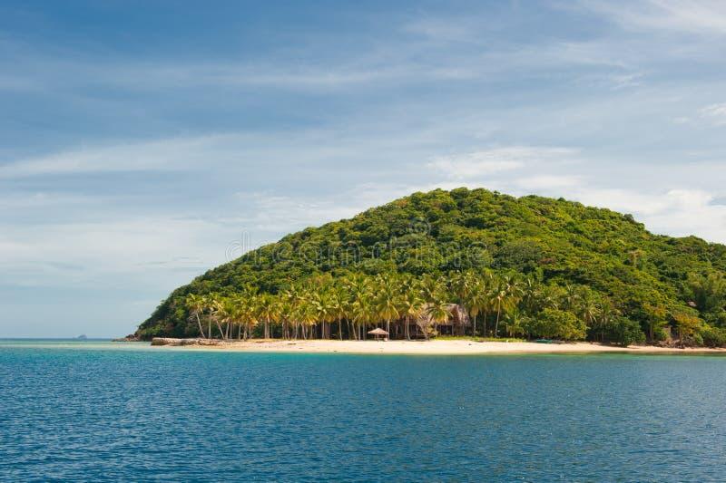 Tropisk ö nära Coron, Philippines arkivfoton