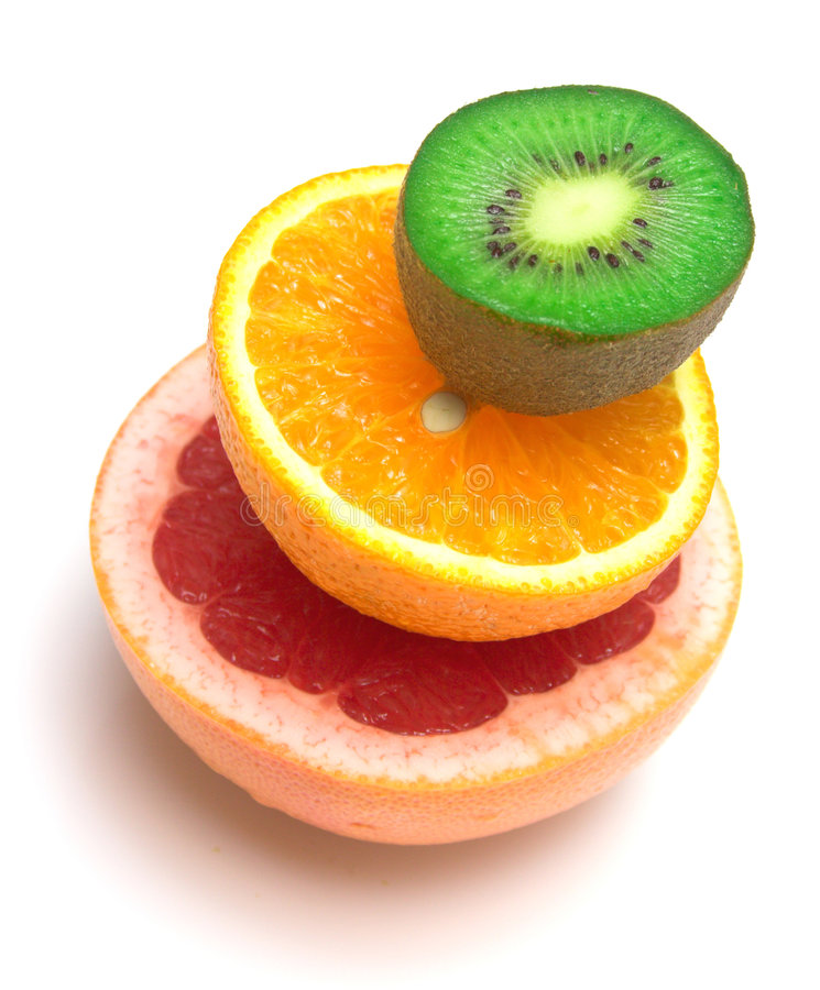 tropisk allsorts frukt arkivfoto