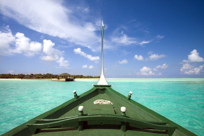 tropisk fartygö royaltyfria foton