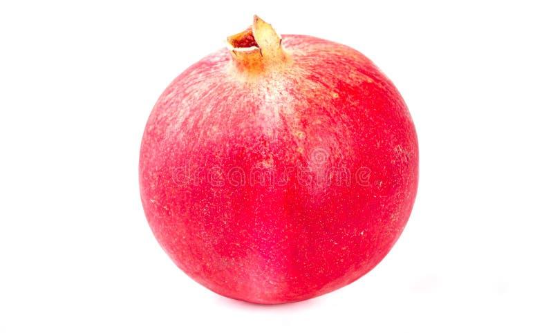 tropisk frukt En mogen granat?pple Frukt med vitamin C Acidic frukter Mogna citrurs white f?r citron f?r kiwi f?r bakgrundsfruktg arkivfoton