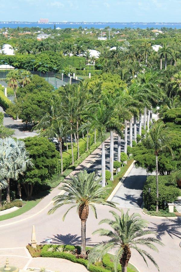 tropisk ingångssemesterort fotografering för bildbyråer