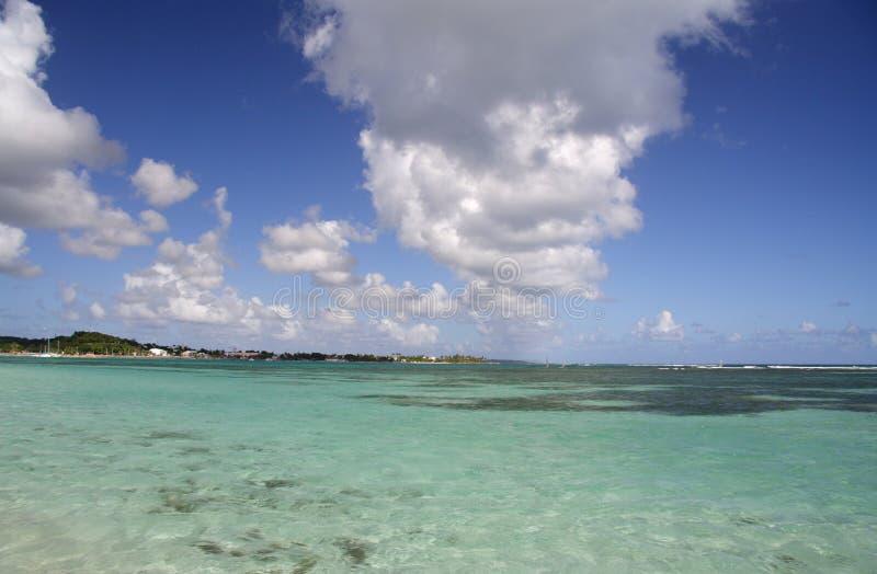 tropisk lagun royaltyfri foto