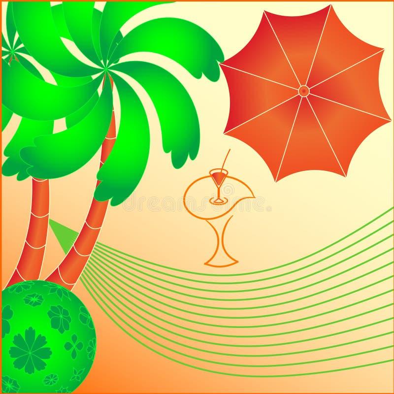 tropisk paradisrest fotografering för bildbyråer