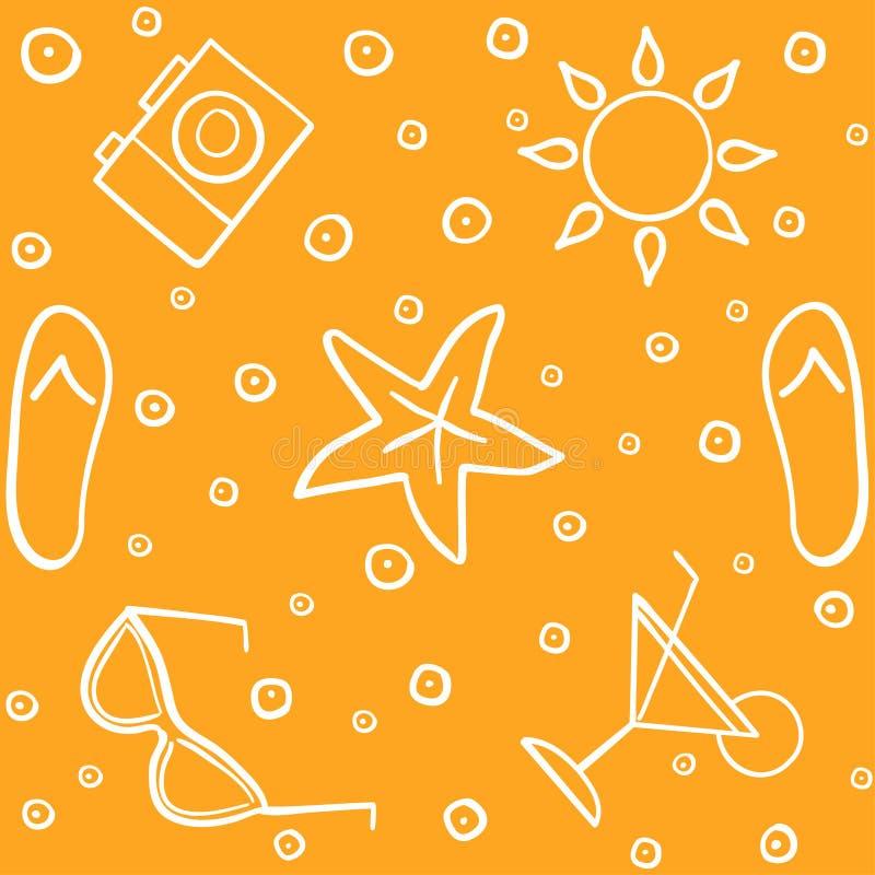Tropisk semester - sömlös modell var kan formgivare varje för objektoriginal för evgeniy diagram självständig kotelevskiy vektor vektor illustrationer