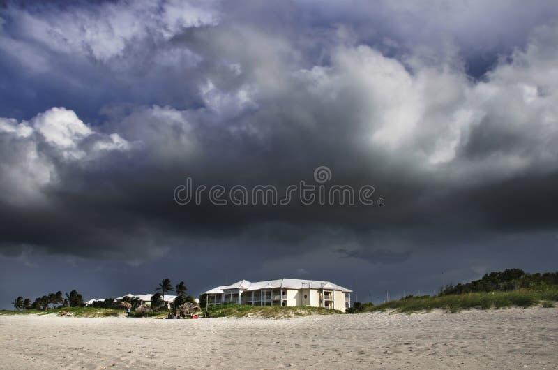 tropisk storm royaltyfria foton