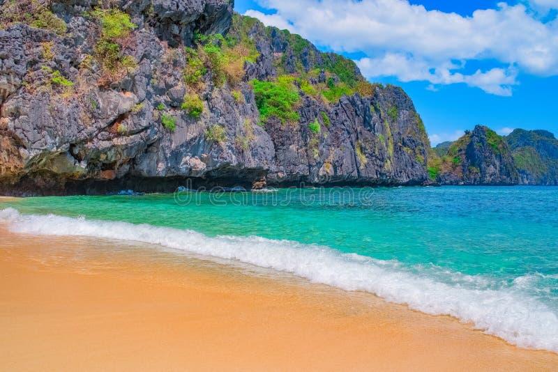 tropisk strandsand royaltyfri fotografi