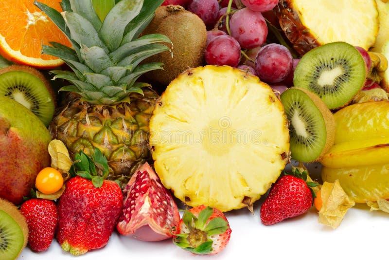 tropiska nya frukter arkivbild