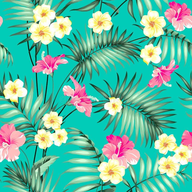 tropiskt designtyg vektor illustrationer