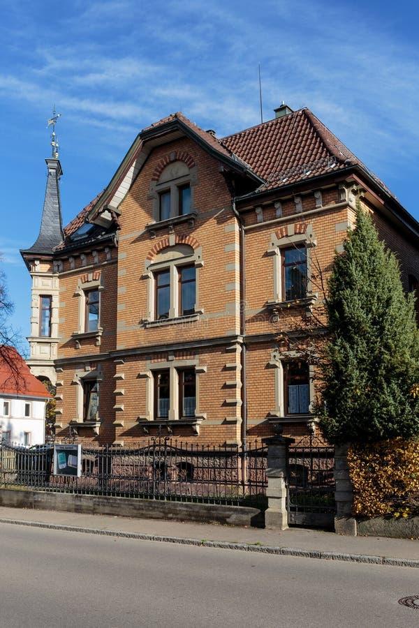 Trossingen Historische Huizen royalty-vrije stock fotografie