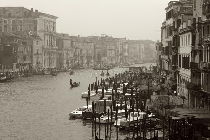 Trostloser Tag in Venedig stockfotografie