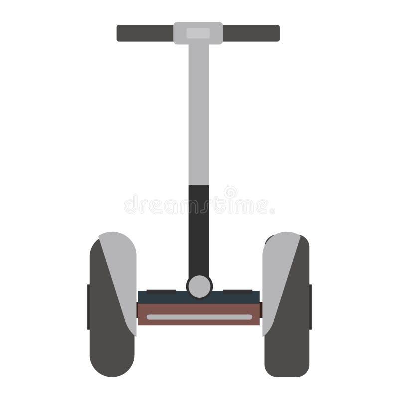 'trotinette' isolado mono roda do rolo ilustração do vetor