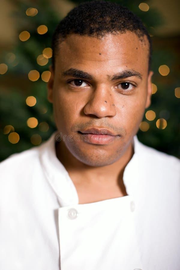 Trotse Jonge Chef-kok royalty-vrije stock foto's