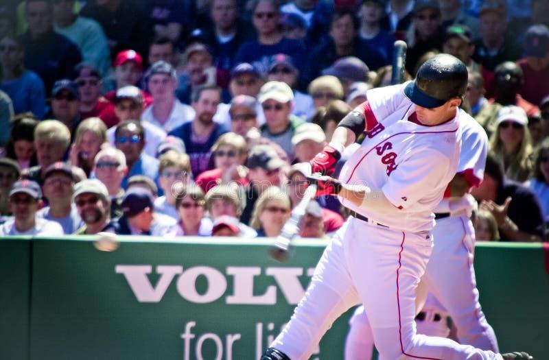 Trotto Nixon, Boston Red Sox fotografie stock libere da diritti