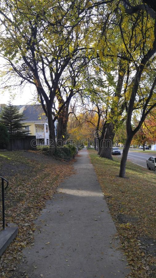 trottoar arkivbild
