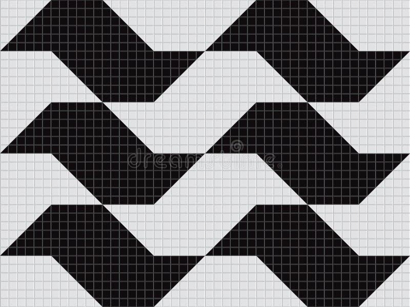 trottoar för o paulo s vektor illustrationer