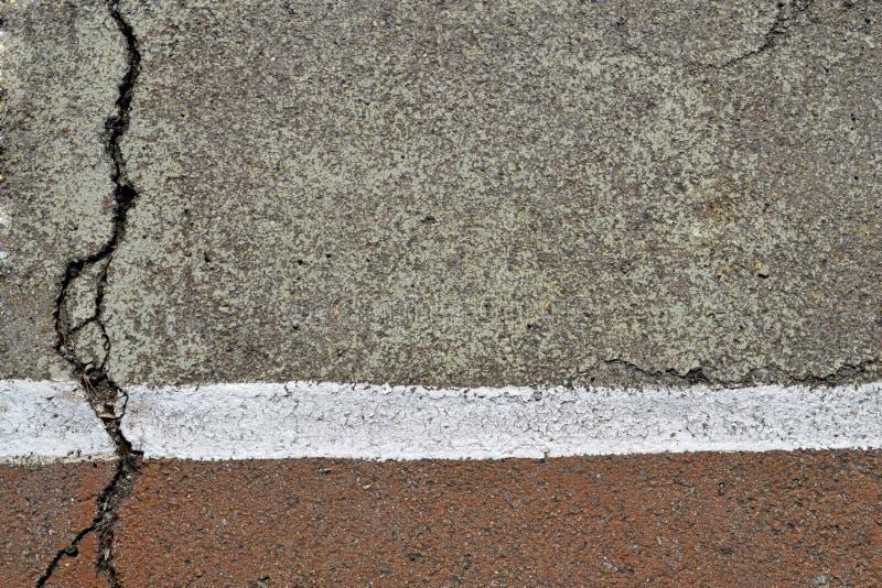 trottoar skrovlighet royaltyfri bild