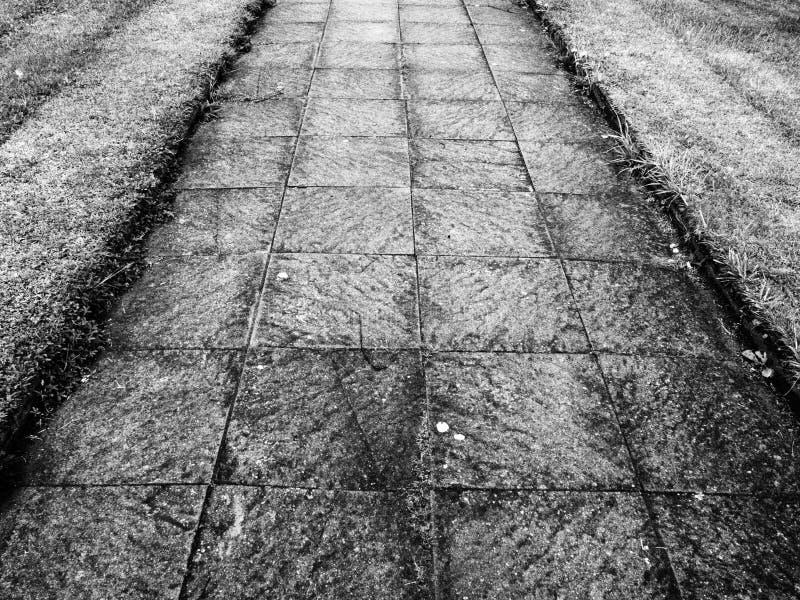 trottoir photo stock