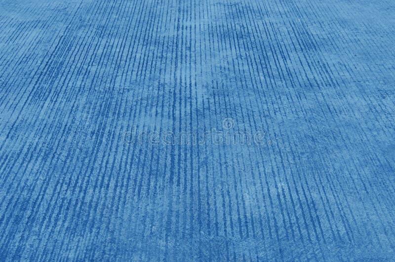 Trottoir bleu de ciment image libre de droits