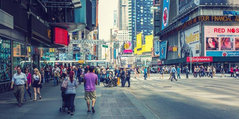 Trottoir de New York images libres de droits