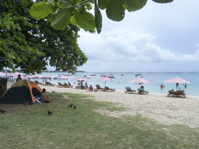 Trou-aux.-Biches, Îles Maurice image stock